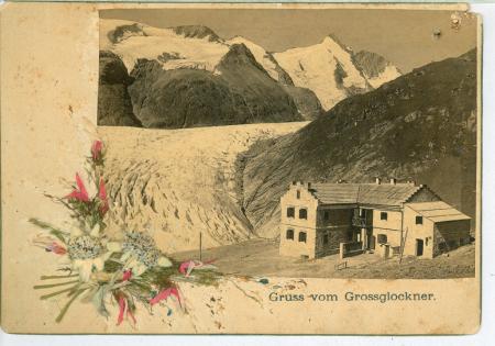 [Riprese varie: ritratti di alpinisti, rifugio del Grossglockner]