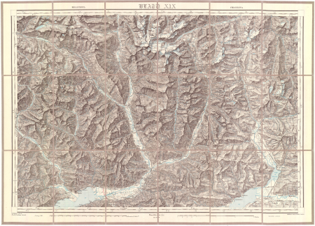 Blatt XIX: *Bellinzona, Chiavenna
