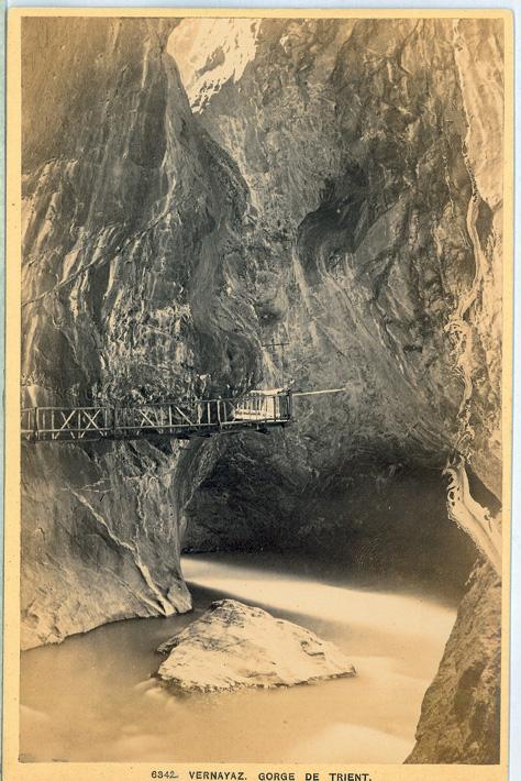 6342. Vernayaz. Gorge de Trient.