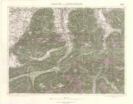 Achenkirch und Benedictbeuern : 4947