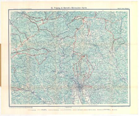 G. Freytags Skirouten-Karte : Blatt 6 : Grazer Berglandes