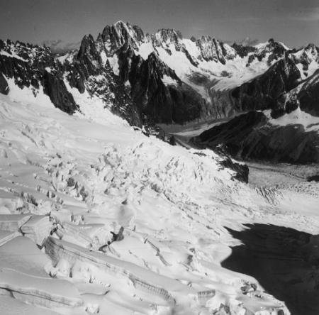 [Alpi, Gruppo del Monte Bianco, Aiguille Verte, circolo de Talèfre]