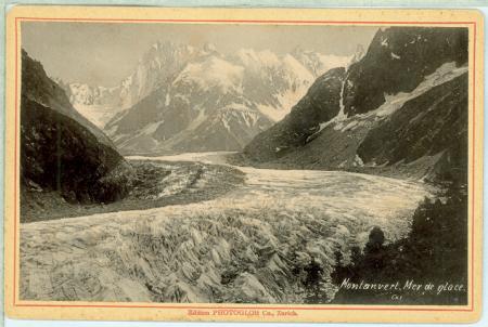 [Riprese varie tra cui Massiccio del Monte Bianco, Mer de Glace, Chamonix-Mont-Blanc, Mauvais Pas, Osservatorio Janssen]