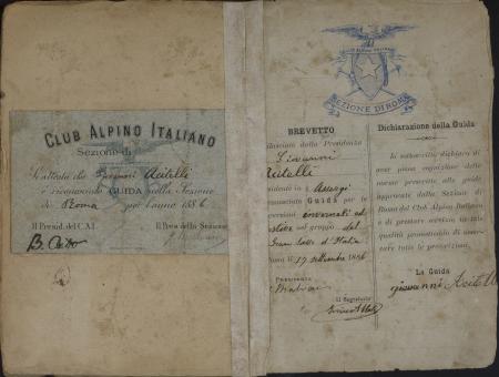 Giovanni Acitelli : 17 settembre 1886-12 ottobre 1927