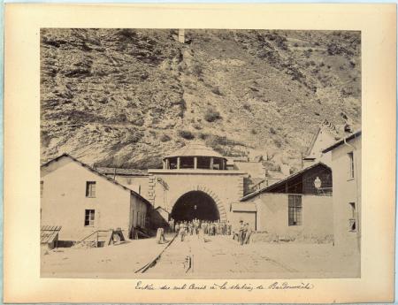 1801. Moncenisio. Bardoneche Lato del Tunel