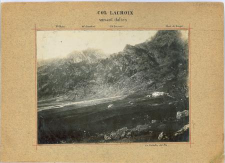 Col Lacroix versant italien