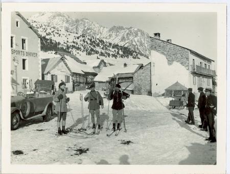 Chalet du Club des Sports d'Hiver de Briançon a Mt Genèvre