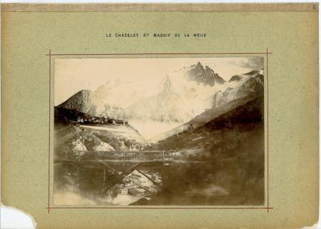 Le Chazelet et Massif de la Meije