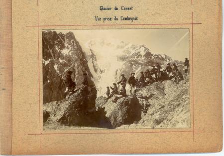 Glacier du Casset - Vue prise du Combeynot