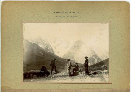 Le Massif de La Meije - Vu du Col du Lautaret