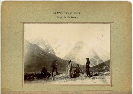 [Le Massif de La Meije, Glacier du Monétier]