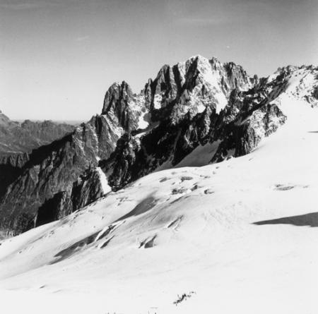 [Alpi, Gruppo del Monte Bianco, Aiguilles du Dru e Aiguille Verte]