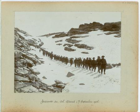 Descente du Col Girard