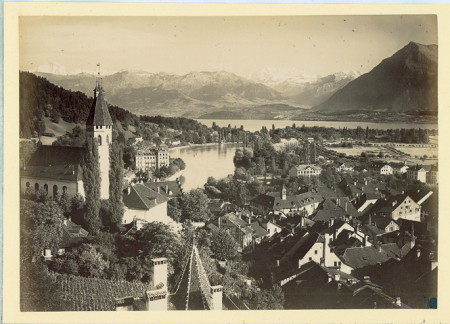 [Riprese varie del Canton Berna: Thun e Grindelwald (?)]