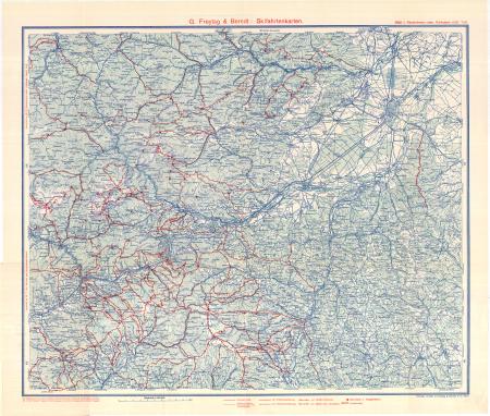 G. Freytag & Berndt's Schifahrtenkarten : Blatt 1: *Niederösterr.-steir. Kalkapen : (östl. Teil)