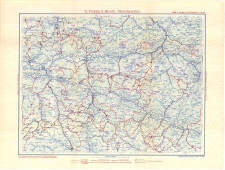 G. Freytag & Berndt's Schifahrtenkarten : Blatt 3: *Ennstal und Rottenmanner Tauern