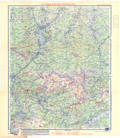 G. Freytag & Berndt's Schifahrtenkarten : Blatt 4: *Östl. Salzkammergut