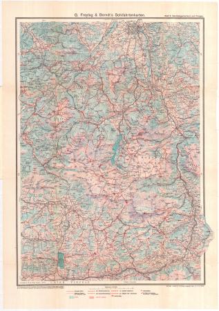 G. Freytag & Berndt's Schifahrtenkarten : Blatt 5: *Berchtesgadnerland und Pinzgau
