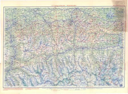 G. Freytag & Berndt's Schifahrtenkarten : Blatt 9: *Kitzbüheler Alpen und Pinzgau