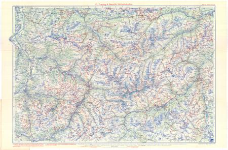 G. Freytag & Berndt's Schifahrtenkarten : Blatt 10: *Rhätikon-Silvretta