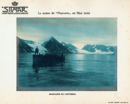 """Le crociere del """"Neptunia"""" nei Mari Artici."""
