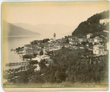 [Como. Panorama della città, Lago di Como - Bellagio con Villa Serbelloni]