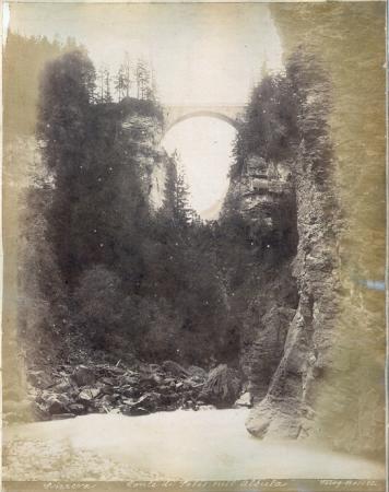 Svizzera - Ponte di Solis sull'Albula