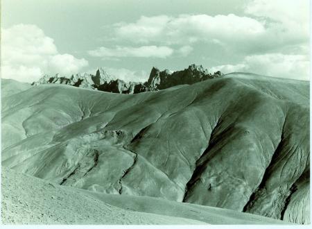 Veduta dalla strada Kangil-Leh, verso Sud Est