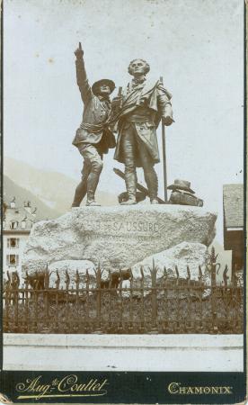 [Monumento a De Saussure, Chamonix]