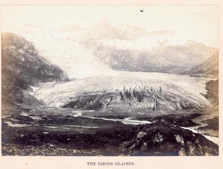 The Rhone Glacier