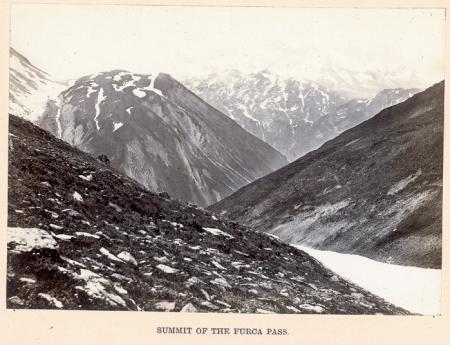 Summit of the Furca Pass
