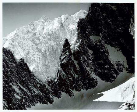 Monte  Bianco, versante di Frêney