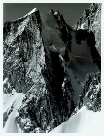 Aiguille Blanche de Peutérey, versante nord