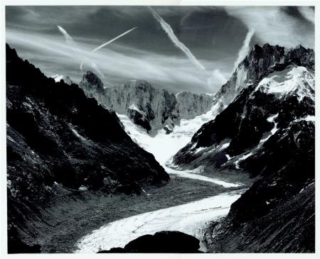 Monte Bianco, Mer de Glace, Ghiacciaio Leschaux