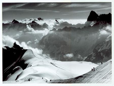 Monte Bianco, panorama dall'Aiguille du Midi