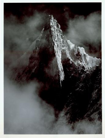 Monte Bianco, Flammes de Pierre