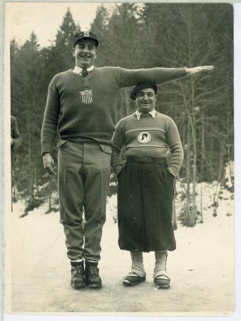 A Garmisch: l'americano Riccardo Lawrence e il francese Alberto Mugnier