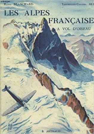 Les Alpes françaises a vol d'oiseau