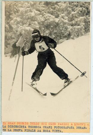 [Ritratti di atleti alle Olimpiadi invernali di Garmisch e al Gran Premio dello Sci Club Parigi a Megève]