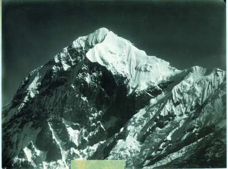 Pandim, veduta della cima da presso Jongri