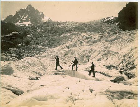 [Riprese varie di Chamonix, Mer de Glace, Glacier des Bossons]