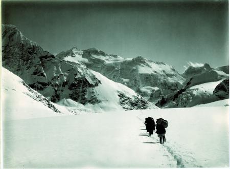 Kangchenjunga, veduta da 100 metri sotto il Jonsang La