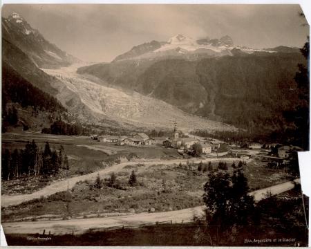 2544 Argentière et le Glacier