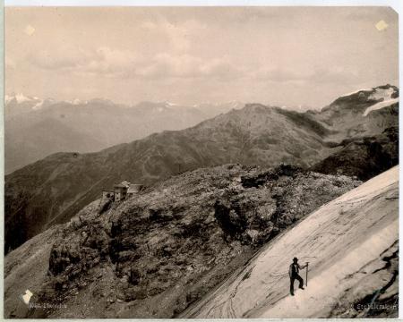 4192 Payerhütte die Oetzthaler & Stubaieralpen