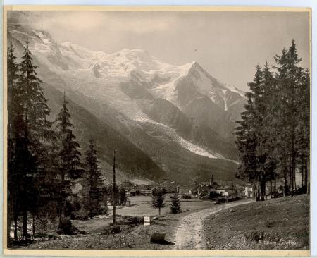 2510 Chamonix et le Montblanc