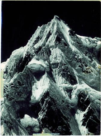 Siniolchu dal lato sinistro del ghiacciaio Zemu