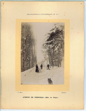 Avenue de Grenoble (Effet de Neige)