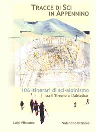Tracce di sci in Appennino