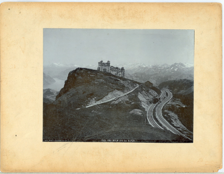 1533 Rigi-Kulm und die Alpen