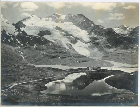 6683 Bernina Hospitz mit Piz Cambrena